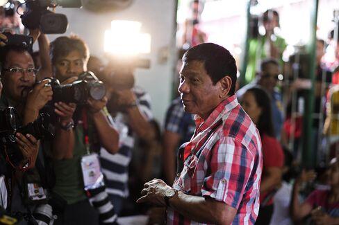 Rodrigo Duterte on May 9.