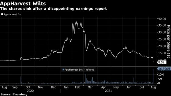 Bad Tomatoes at SPAC's Indoor Farm Empire Send Shares Tumbling