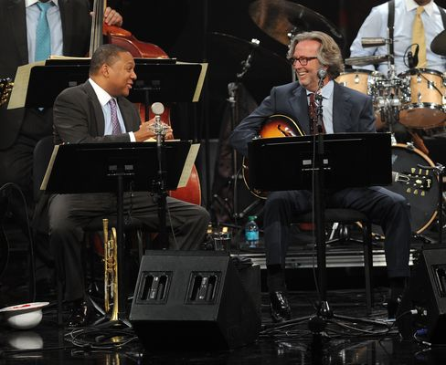 Clapton and Marsalis at Jazz at Lincoln Center