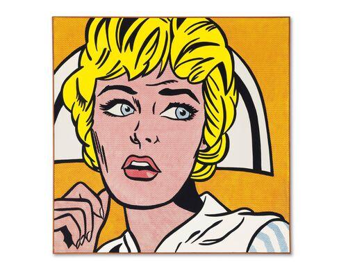 Roy Lichtenstein, Nurse, 1964