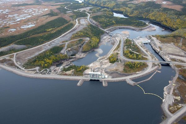 CANADA-ECONOMY-ENERGY-FOREST-WATER