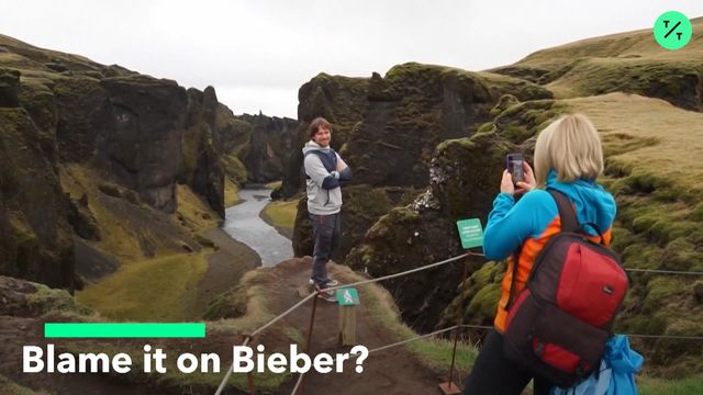 Once-Pristine Canyon in Iceland Closed After Bieber Video