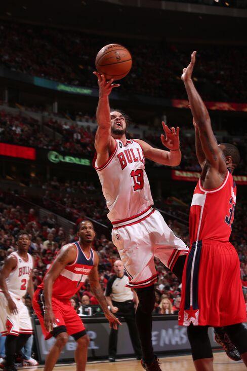 Chicago Bulls' Joakim Noah