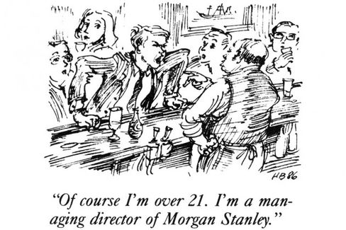 Click here for a slideshow of Blaustein's cartoons