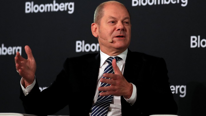 German Finance Minister Olaf Scholz: Sees No Need for Stimulus