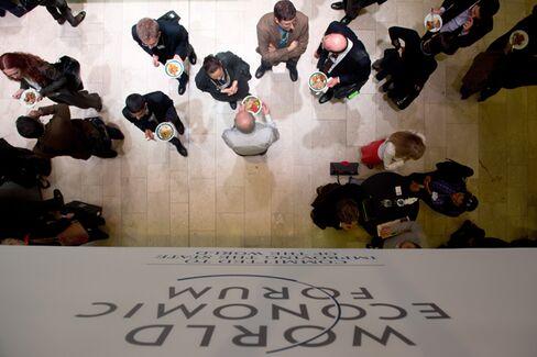 Mock This? Davos Facilitates Worthy Social Programs