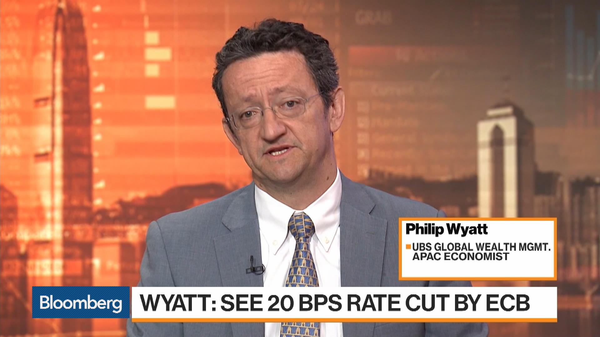 Philip Wyatt, Economist at UBS Global Wealth Management, on
