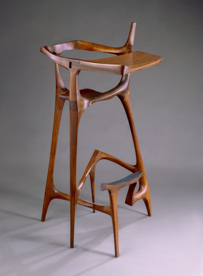 An Early Work By Castle, Scribeu0027s Stool, From 1961  62
