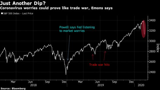 Trade Virus Like the Trade War, and Eye Central Banks: Emons