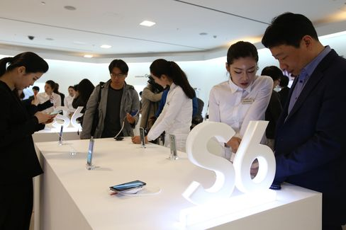 Samsung Electronics Co. Launches Galaxy S6 And Galaxy S6 Edge