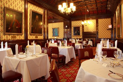 The Peers' Dining Room in the House of Lords will open to the public in the run-up to the May 7 general election.