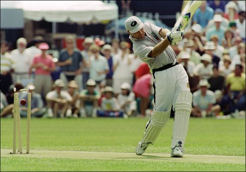 Martin Crowe in 1992.