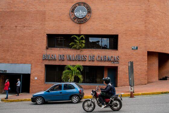 A Teeny-Tiny Debt Sale Breathes Life Into Venezuela's Markets