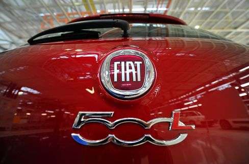 Fiat Drops on Press Report of Capital Increase
