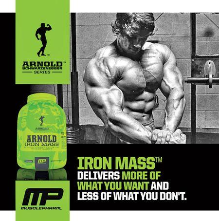 MusclePharm's Arnold Iron Mass.