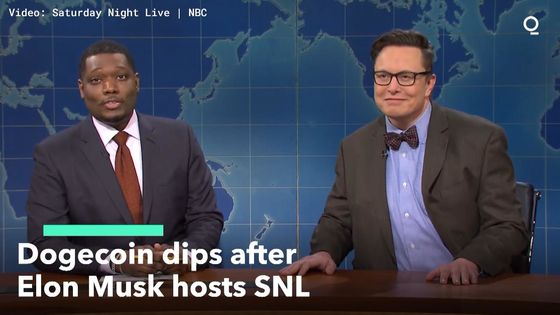 Days of Torrid Dogecoin Gains Erased as Musk 'SNL' Episode Airs