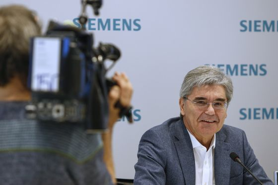 As Siemens Picks a New Unit Head, the Race Is On for the Top Job