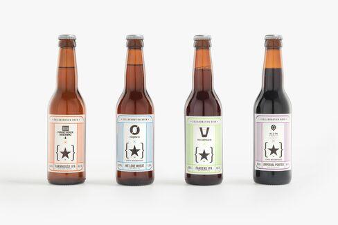 Lervig Aktiebryggeri bottles.
