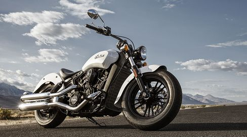 """The Scout Sixty in """"Pearl White."""""""