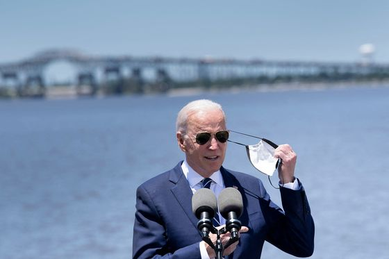 Biden Targets Louisiana Bridge in Infrastructure Sales Pitch