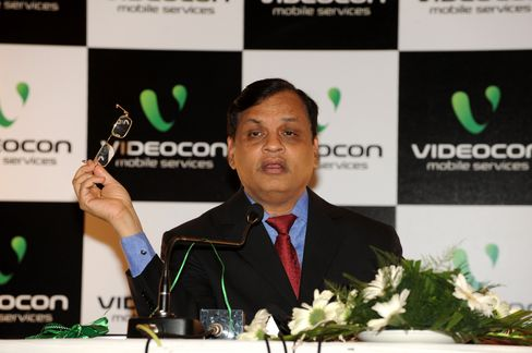 Videocon Chairman Venugopal Dhoot