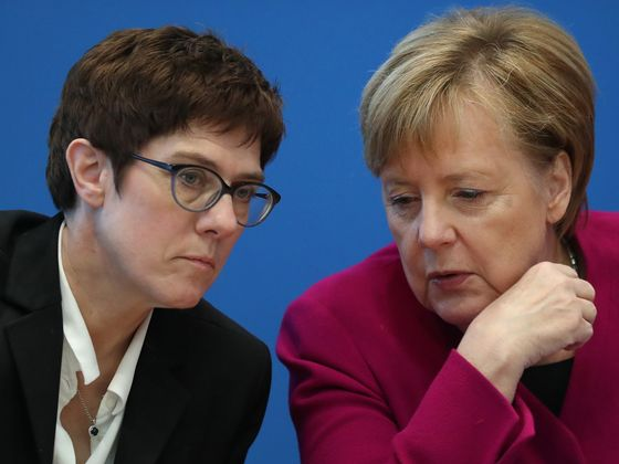Germany Shakenby an Extremist Surprise