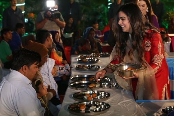 Beyonce Meets Bollywood as Daughter of Asia's Richest Man Weds
