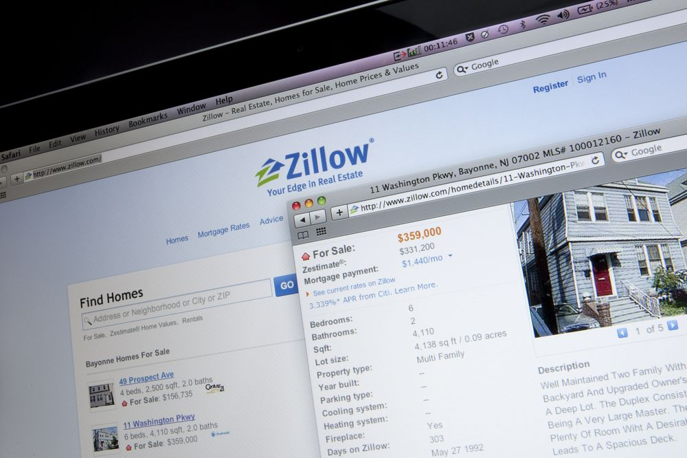 Your Zillow Account Makes It Costlier to Buy a Home - Bloomberg