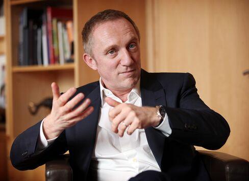 PPR SA CEO Francois-Henri Pinault