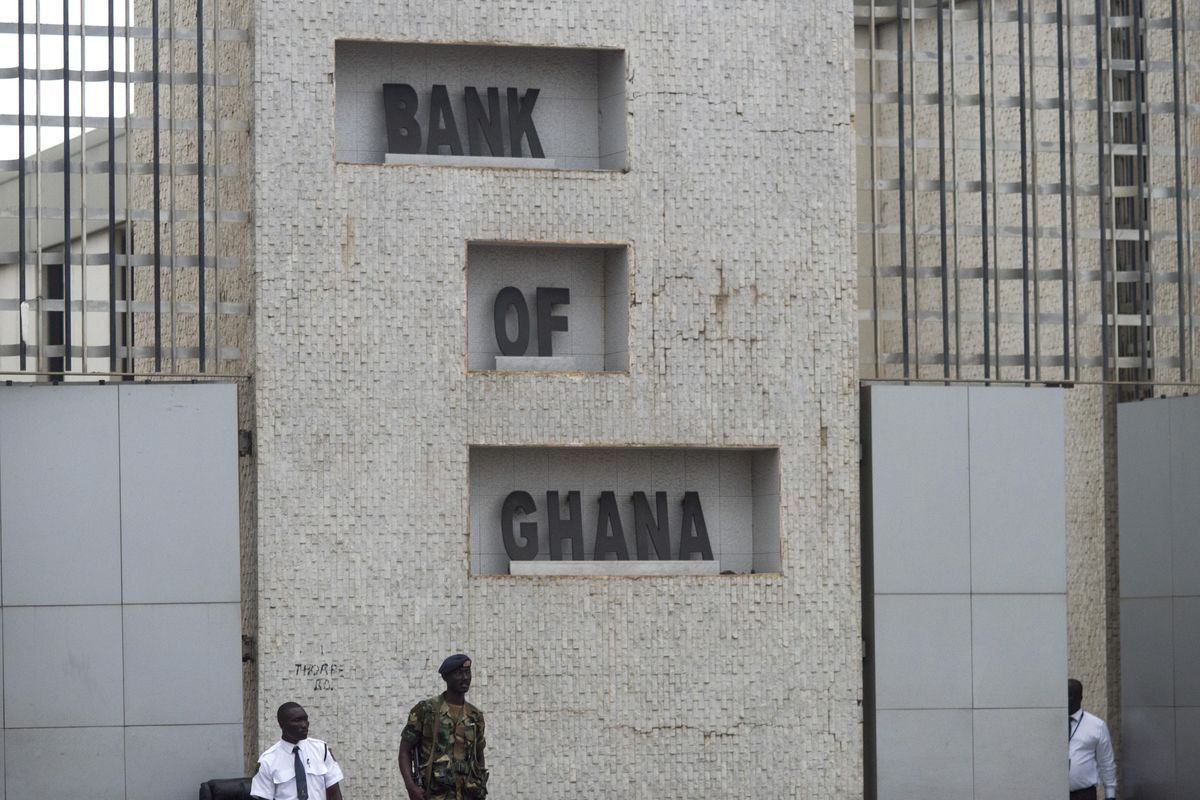 Ghana holds a key interest rate amid inflationary pressures