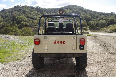 Off road is where this Jeep is happiest.