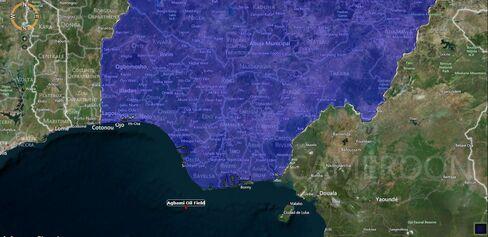 MAP: Agbami Oil Field