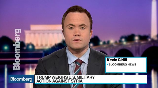 Bloomberg's Kevin Cirilli reports on the White House response to Syria so far