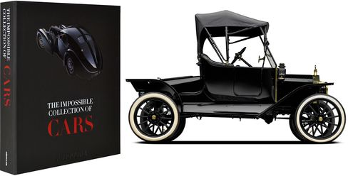 Pictured: The extremely rare, limited-edition 1914 Ford Model T-side.
