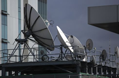 BSkyB satellite dishes