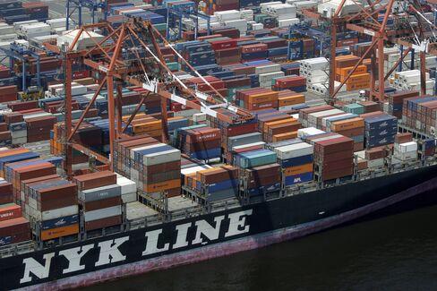 郵船のコンテナ船