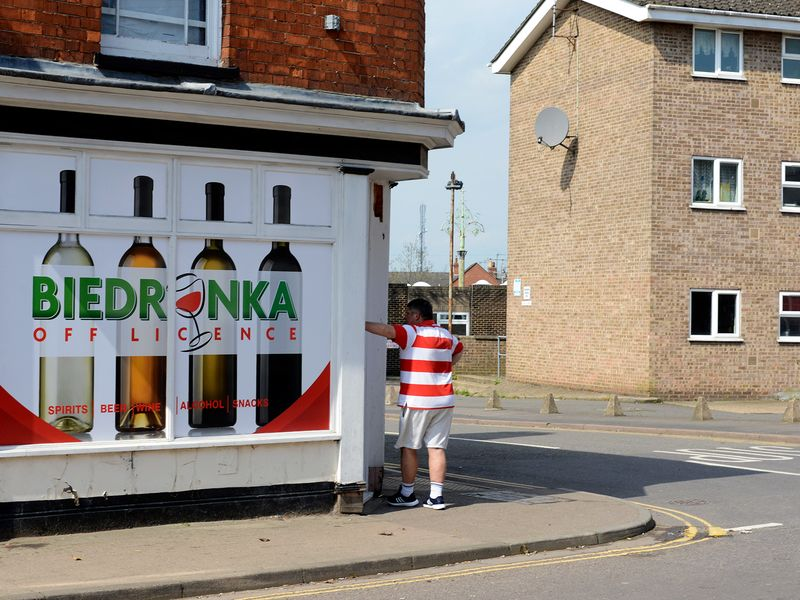 A Polish shop in the suburbs of Boston, Lincolnshire.