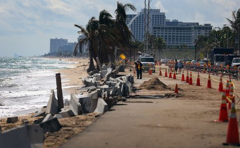 Beach Erosion In South Florida Adds To Concerns About Global Warming