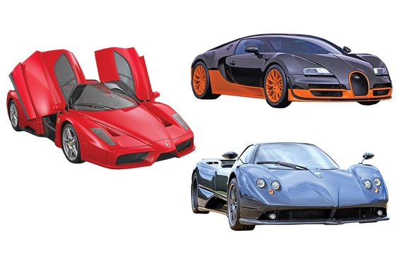 A Timeline of Supercar Innovations Over the Decades