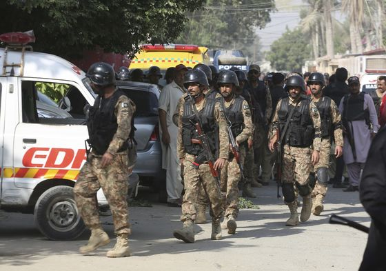 Militants Assault China's Consulate in Pakistan'sBiggest City
