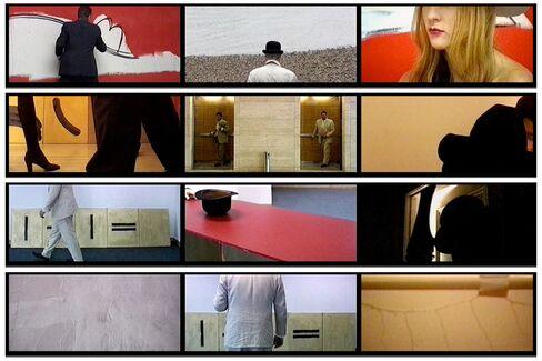 "Bruce McLean, ""Urban Turban,"" 1994-97, Tanya Leighton, Berlin"