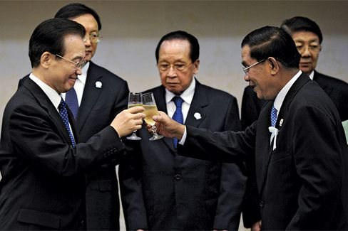 France Bets on Champagne Tastes in China