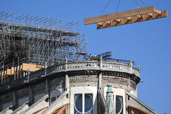 Notre Dame Is Still At Risk From Fused Scaffolding