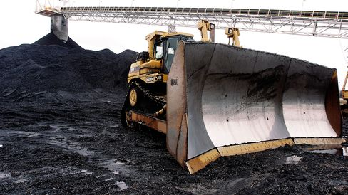 Peabody Energy's Gateway Coal Mine near Coulterville, Ill.