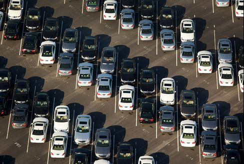 Auto Sales Stall With 500,000 Cut From 2013 U.S. Outlook
