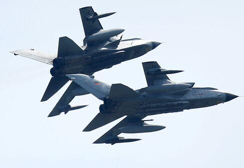 German Tornado jets.