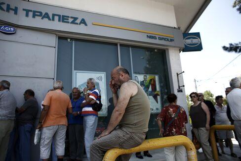 Reaction As Greece Imposes Capital Control