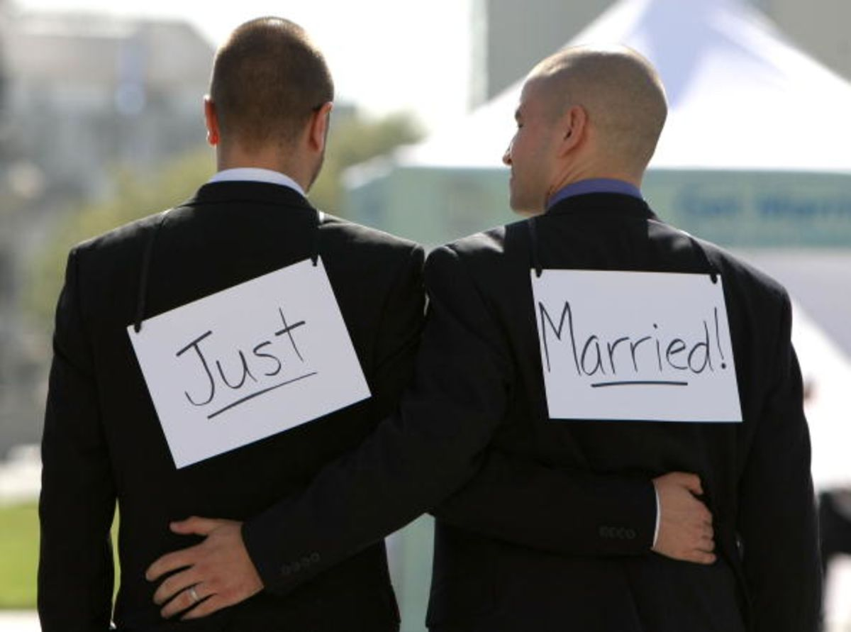 gays have a right to marry 11 facts about gay rights   13 states have banned gay marriage through law,  15 countries currently allow same-sex couples to marry, including the united.