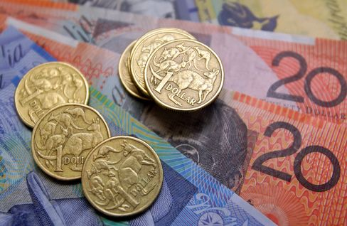 Aussie at 75 U.S. Cents Seen by Credit Suisse; TD Flags RBA Cut