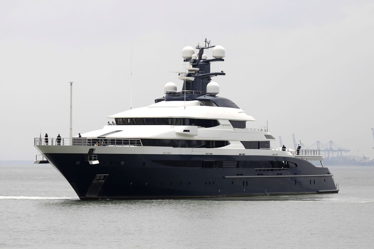 1MDB-Linked Superyacht Is For Sale Again With a Bigger Price Tag